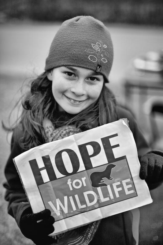 Levée de fonds pour Hope for Wildlife