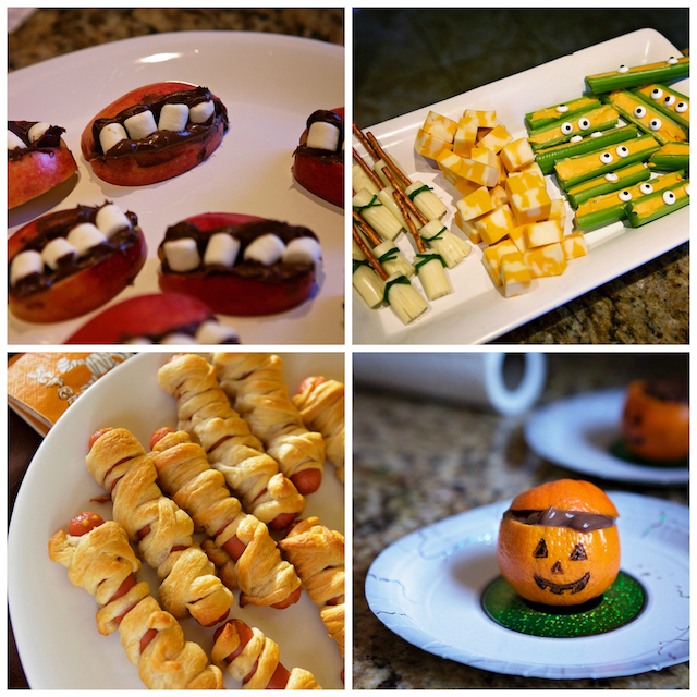 Lunch spécial d'Halloween