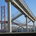 l_footbridge, bridge 25 abril, Lisbon