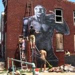 Tefcon, Slumlord Project, Baltimore © BrooklynStreetArt.com