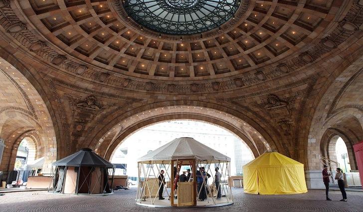 Nomadic Yurts, Station to Station Pittsburgh