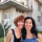 Cathy Byrd with Glenda Leon