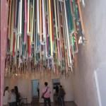 Manuel Lopez Oliva installation, La Cabaña