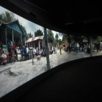 Joana Malinowska & CT Jasper, Poland Pavilion, panoramic film projection