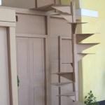 Sandra Calvo, cardboard architecture