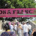Entrance to Zona Franca
