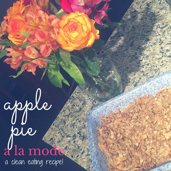 Cleaning Eating Apple Pie A La Mode | Fresh Fit Florida