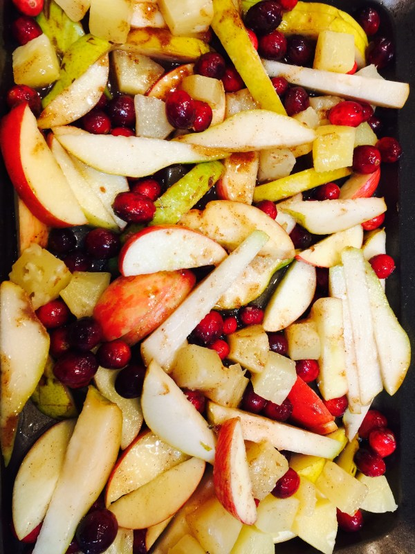 Healthy Holiday Fruit Bake | Fresh Fit Florida