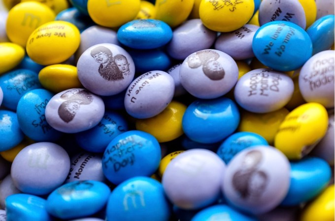 A Sweet Gift: Personalized M&Ms.
