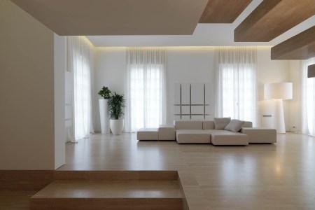 minimalist interior tuscany italy living space