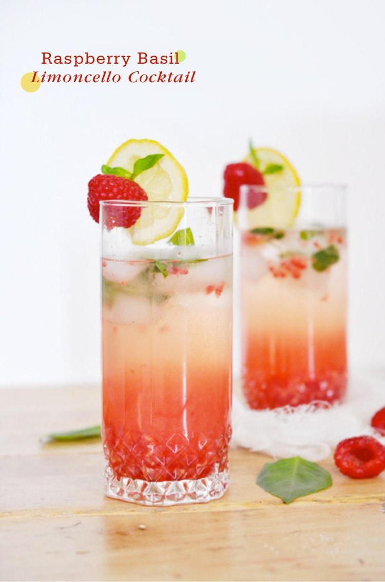Raspberry-Basil-Limoncello-Cocktail