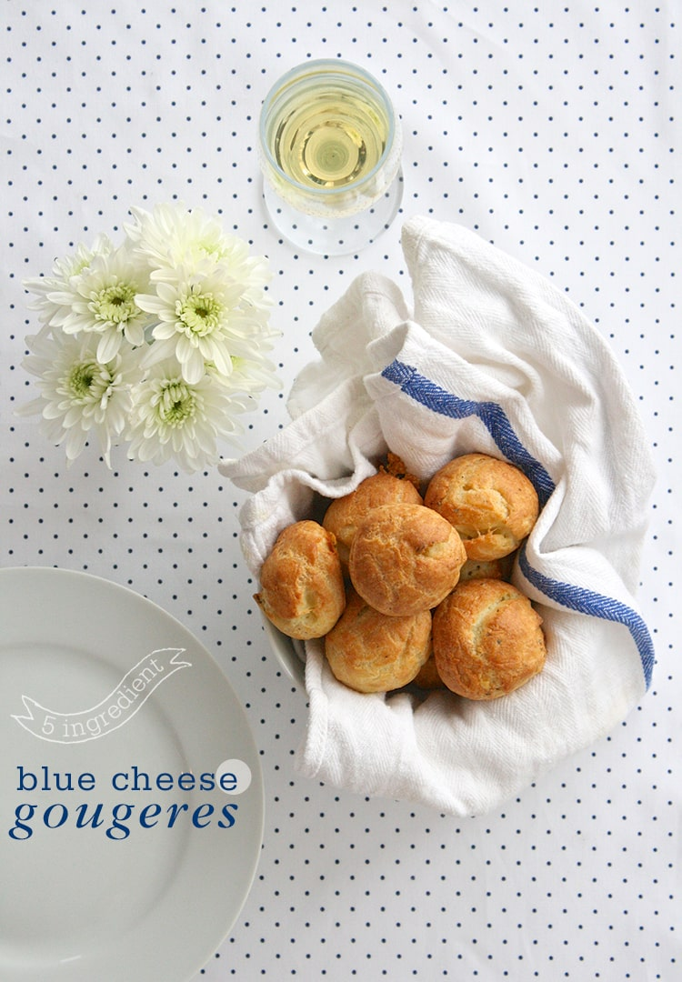 5-Ingredient-Blue-Cheese-Gougeres