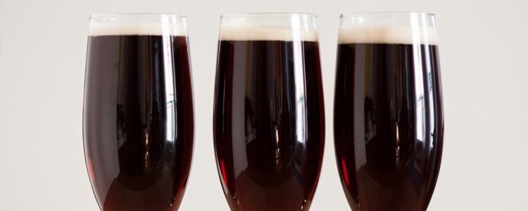 Black Velvet Cocktail