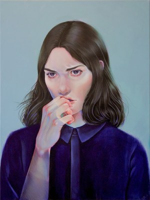 "painting ""Arsenic Blues"" by Martine Johanna"