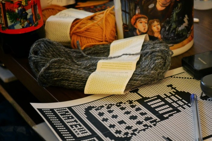 Dr. Who knitting pattern