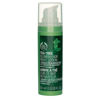 Body Shop Tea Tree Blemish Fade Night Lotion