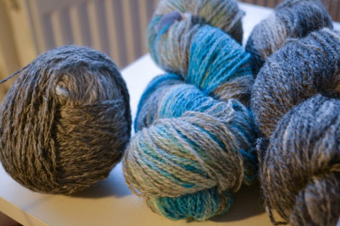 Ball and Hank Ullcentrum Sky Turkos Ombre yarn