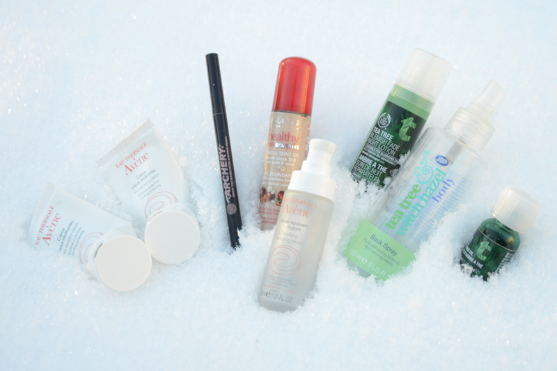 Empties in the snow