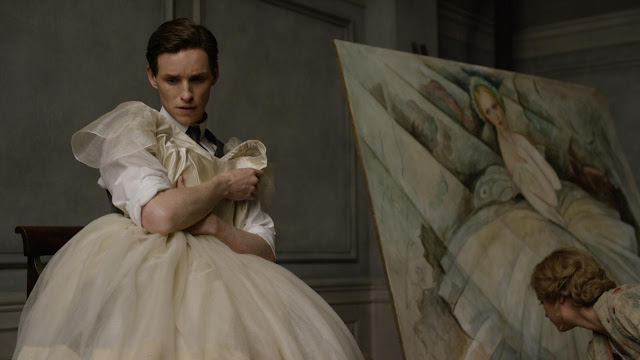 Eddie Redmayne as Einer Wegener in The Danish Girl