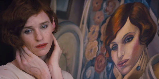 Eddie Redmayne as Lili Elbe in The Danish Girl