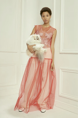 Stella McCartney pre-fall 2016 pink tulle cat