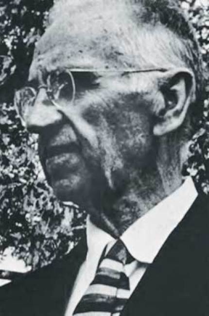 """The author's great grandfather, photo from Friends Journal article, """"A Quaker Portrait: Chester A. Graham"""" by Francis D. Hole (FJ Sept 1, 1972)."""