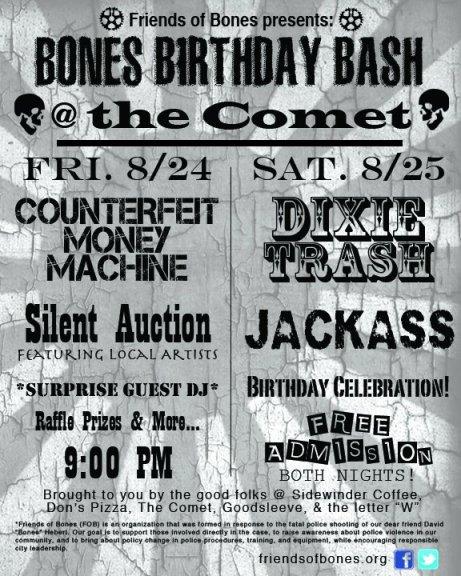Bones Birthday Bash 2012