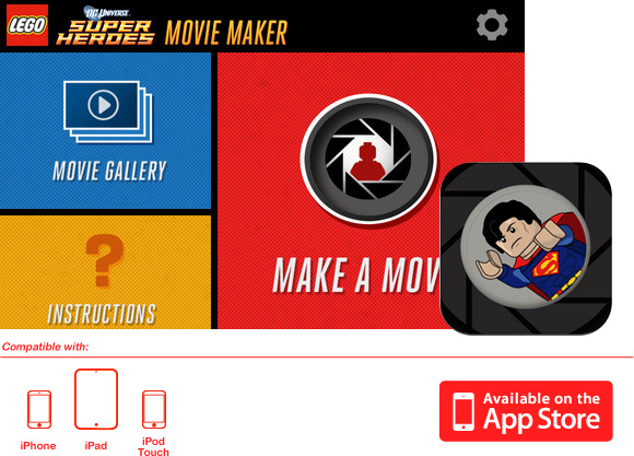 LEGO Super Heroes Movie Maker, una app para hacer pelis - Frikids