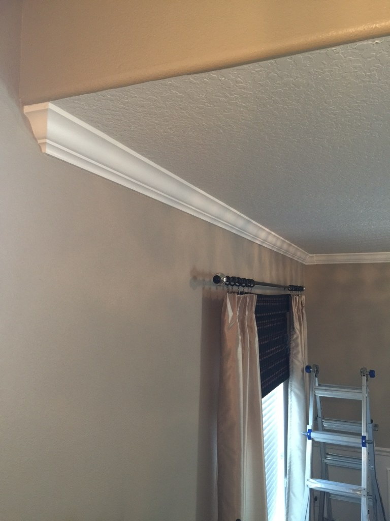 Easiest Crown Molding Ever