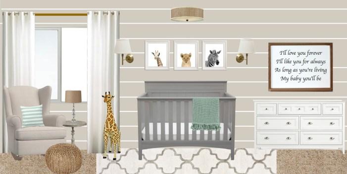 nursery design board