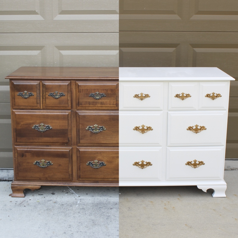 Dresser/Changing Table Makeover