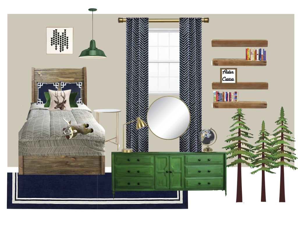 Aiden's Big Boy Room Design
