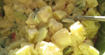 Laktosefri kartoffelsalat