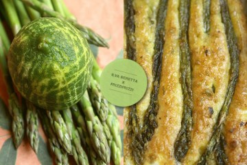 Frittata di asparagina e lime