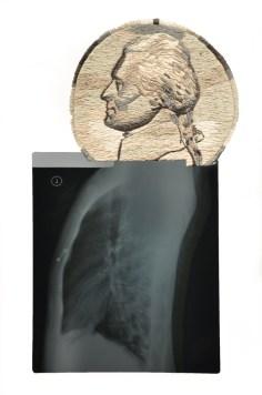 Thomas Jefferson with nipple piercing © Mattew Cox