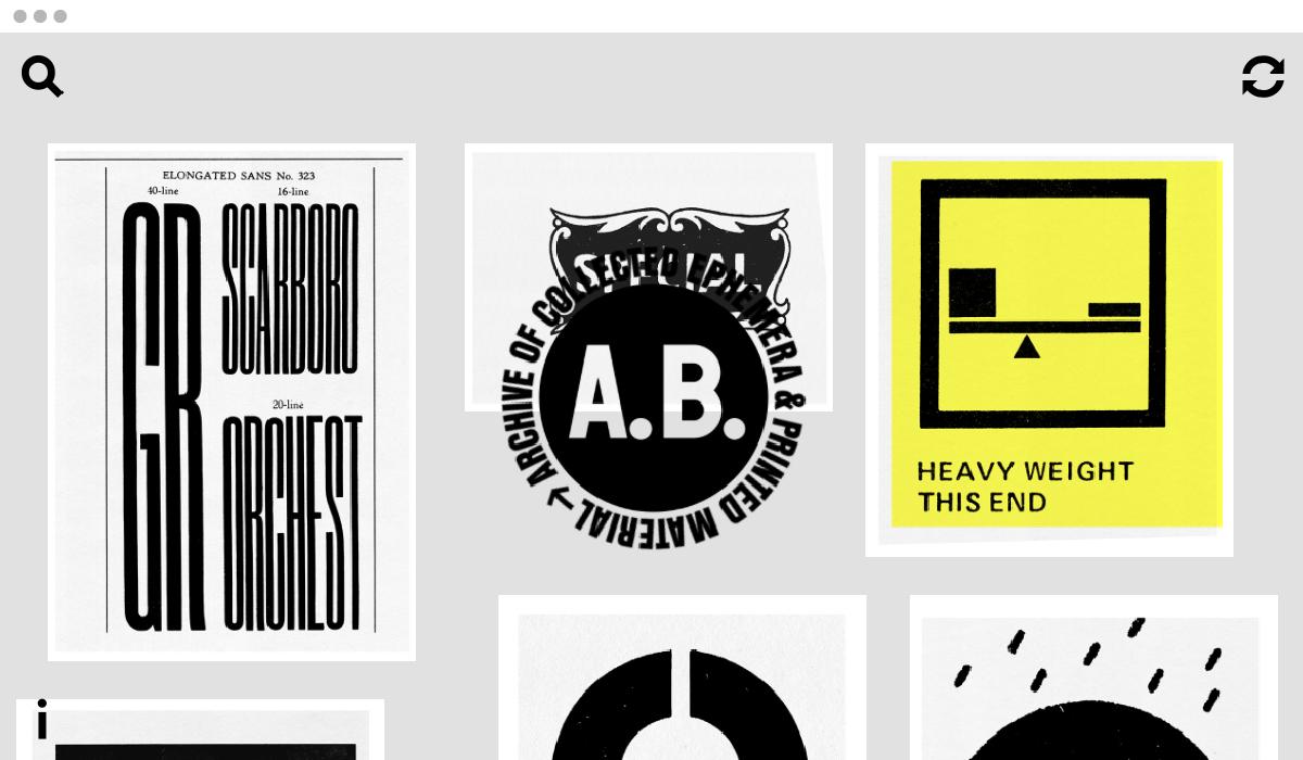 Tesori d'archivio: il designer Anthony Burrill mette online la sua collezione di ispirazioni