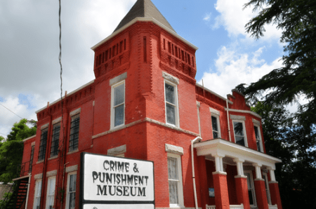 road trips with kids, car games for kids, road trips with kids tips, road trip tips, Asburn, GA, Crime & Punishment Museum