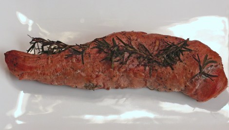 Smoked Rosemary Pork Tenderloin