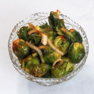 Smoked Brussels Sprouts for Man Food Mondays