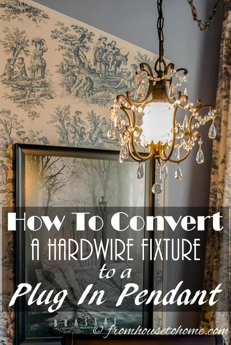 Prodigious Chandelier Pottery Barn How To Convert A Hardwire Fixture To A Plug Chandelier Canada Plug Pendant Plug houzz-03 Plug In Chandelier