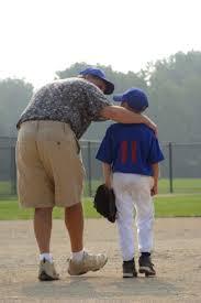 coach arm around player
