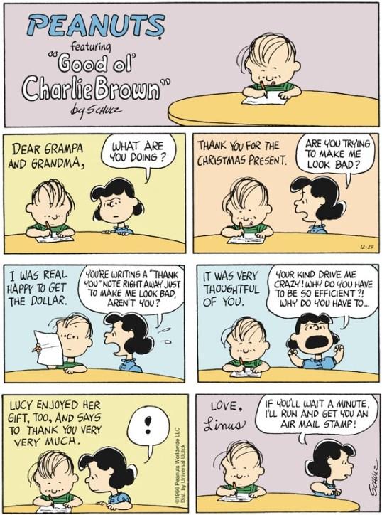 peanuts positive criticism