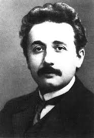 Einstein as a young man