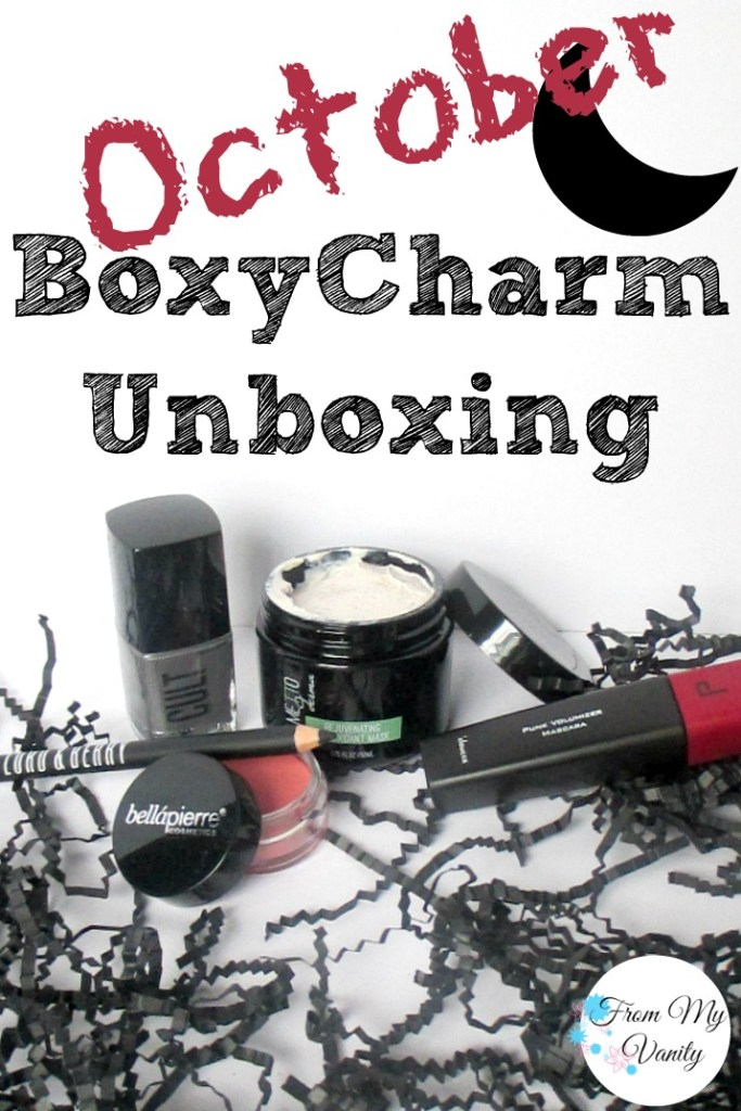 BoxyCharm's October Unboxing & Mini Reviews // Pin it & Read Later! // #BoxyCharm FromMyVanity.com