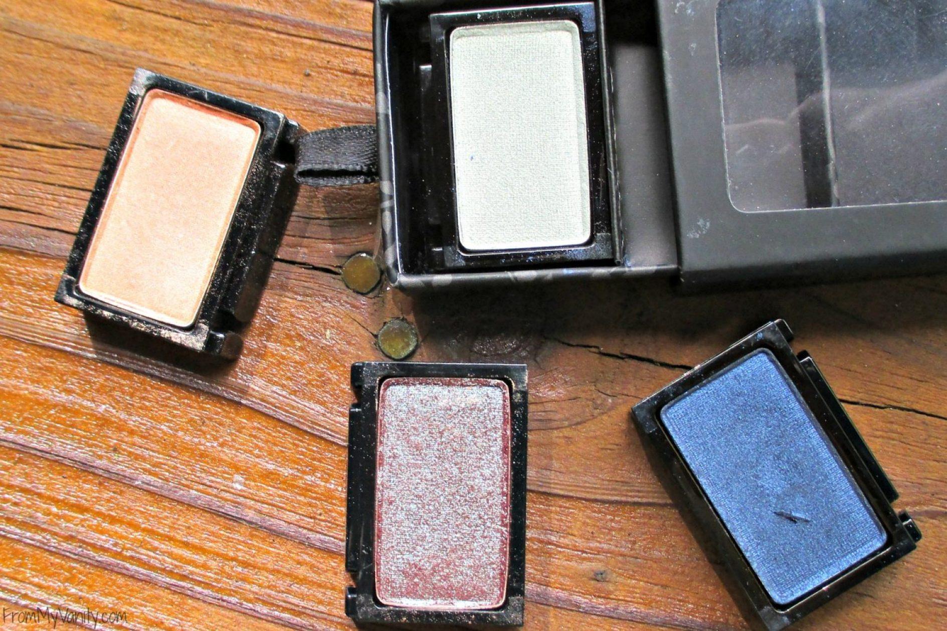Butter London NEW Shadow Clutch Palette // Wardrobe Duo Eyeshadows in Moody Blues & Fancy Flutters // FromMyVanity.com