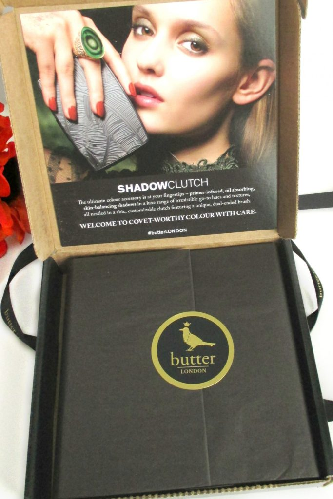 Butter London NEW Shadow Clutch Palette // Opened Box // FromMyVanity.com