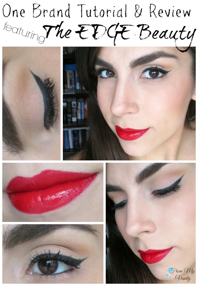 One Brand Tutorial & Review // The EDGE Beauty // Face of the Day // #fotd #faceoftheday #edgebeauty #ladykaty92 FromMyVanity.com
