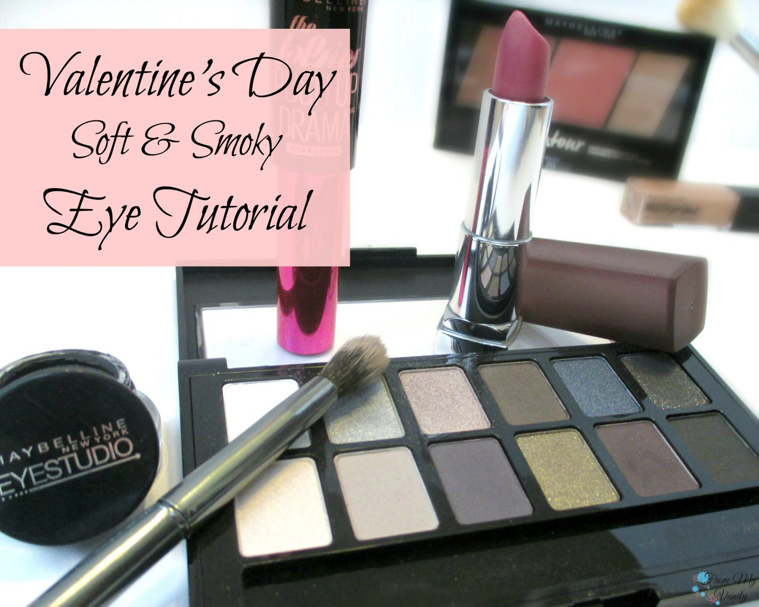 Soft & Smoky Valentine's Day Tutorial // Looks to Love // Easy Step-by-Step tutorial // FromMyVanity.com