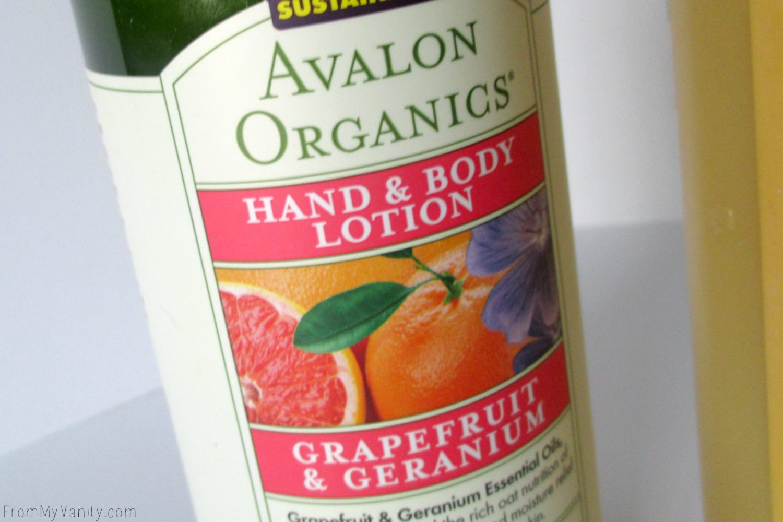 New Products from Avalon Organics, Jason, Alba Botanica, & Proactiv+ // Avalon Organics Hand & Body Lotion // @LadyKaty92 FromMyVanity.com