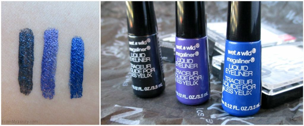 Wet N Wild 2016 Products // Brushes, Gel Polishes, Liquid Liners, & Limited Edition Eyeshadow Trio // Liquid Liner Swatches // FromMyVanity.com